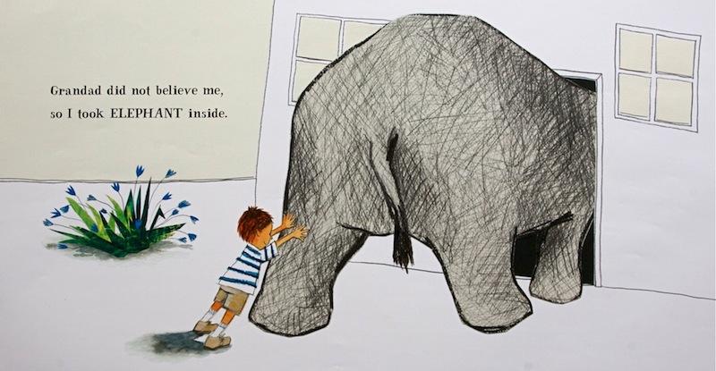 Can Children Draw Pink Elephants Petr Horacek Blog