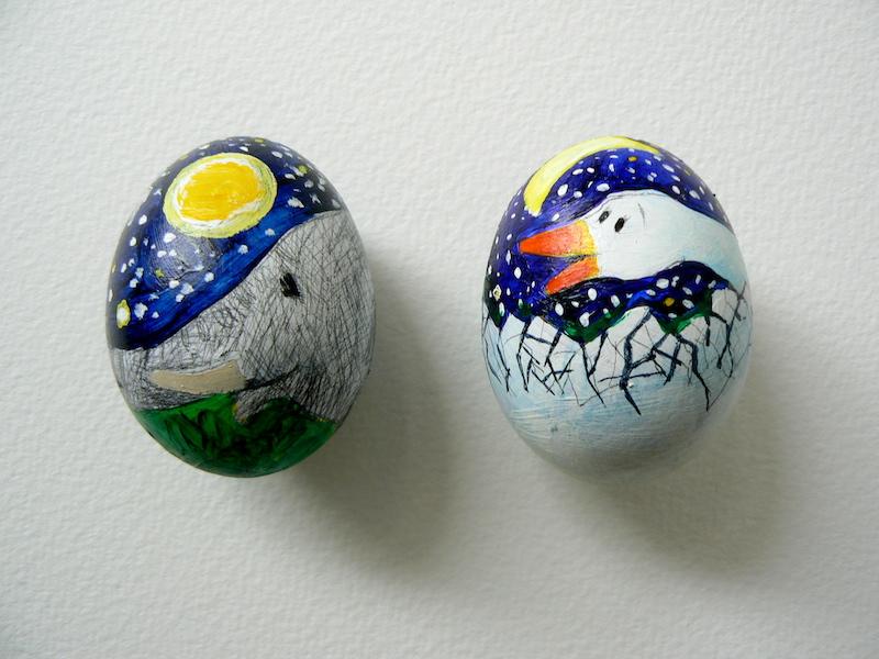 2 eggs