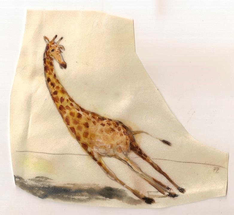 falling giraffe